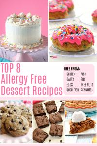 15+ Amazing Top 8 Allergy Free Dessert