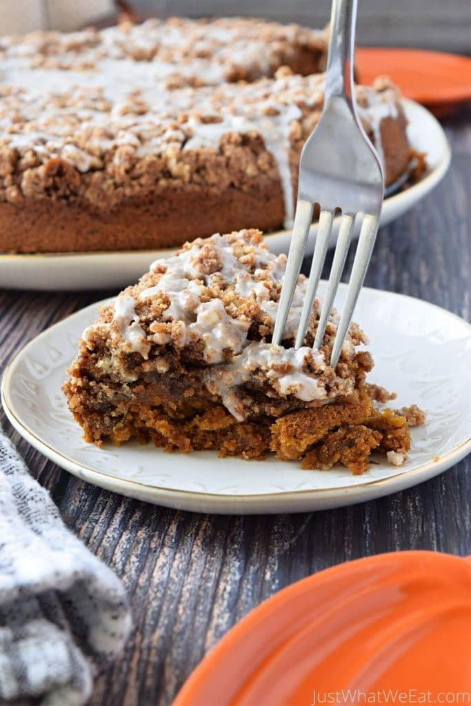 Pumpkin Coffee Cake - Gluten-Free, Vegan